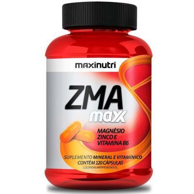 Zma Maxx 120cps - Maxinutri - ZMA MAXX 120CPS