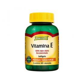 Vitamina E 60cps - Maxinutri - VITAMINA E 60CPS