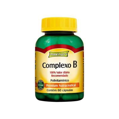 Complexo B 100% Idr 60cps - Maxinutri - COMPLEXO B 60CPS - MAXINUTRI