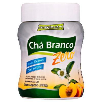 Imagem 1 do produto CHA BRANCO SOLUVEL ZERO 200G PESSEGO - MAXINUTRI