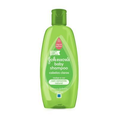 Shampoo Johnson´s Baby Cabelos Claros 200ml