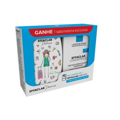 Imagem 1 do produto Kit Effaclar Sabonete De Limpeza Facial 80g + Saboneteira