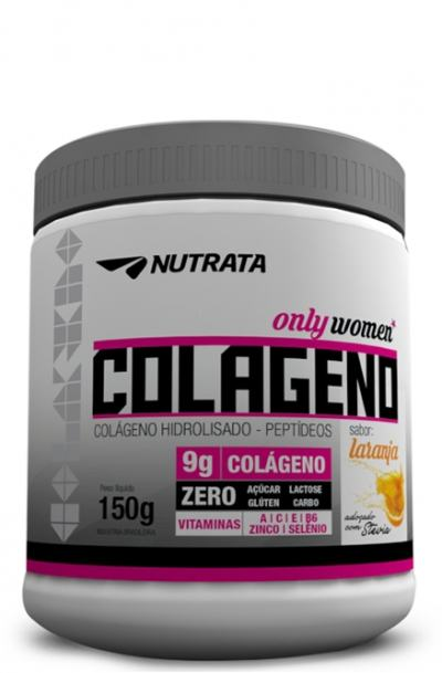 Colágeno Peptideos Only Women 300gr - Nutrata