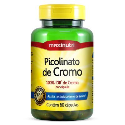 Picolinato De Cromo 60cps - Maxinutri