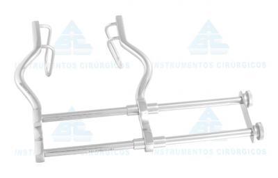 Imagem 1 do produto Afastador Gosset Com Duplo Barramento (Abdominal) ABC - 12CM