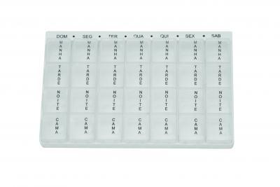 Imagem 1 do produto PORTA COMPRIMIDO 28 COMPARTIMENTOS PB2000 GLIFE