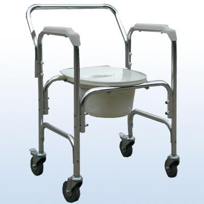 Imagem 1 do produto CadeIra de Banho em Alumínio A-CM202W Praxis