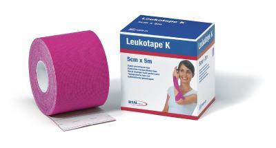 Imagem 2 do produto Leukotape 5 cm  X 5 m Rosa Pink BSN Medical - Leukotape 5 cm X 5 m Rosa Pink BSN Medical