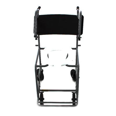 Imagem 2 do produto Cadeira de Banho com Braço Escamoteável Preta 201 CDS - Cadeira de Banho Escamoteável 201 CDS