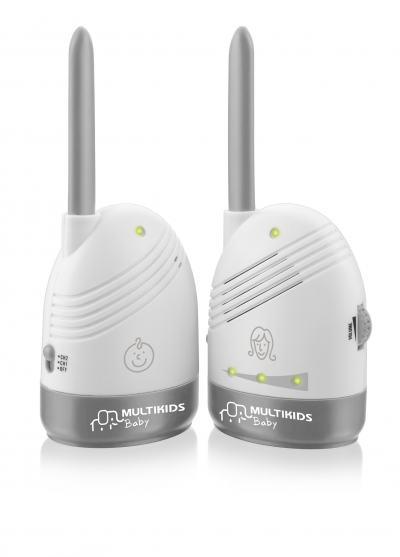 Imagem 1 do produto Babá Eletrônica Multikids Baby Sem Tela Baby Sound BB002