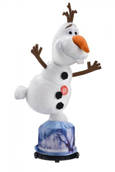 Pelúcia Frozen Olaf Gira e Fala - BR277