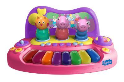 Imagem 1 do produto Peppa Pig Piano com Personagens - BR203