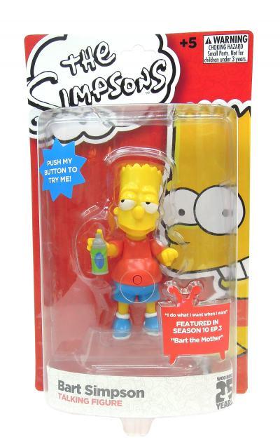 Imagem 2 do produto Boneco Simpsons Bart 15 Cm com Som - BR501