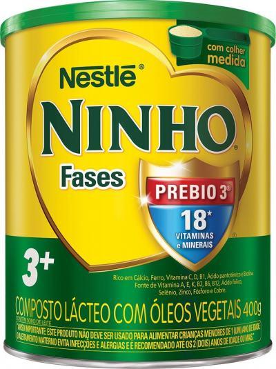 Composto Lácteo Nestlé Ninho Fases 3+ 400g
