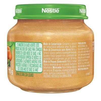 Imagem 2 do produto Papinha Nestlé Legumes com Carne 115g