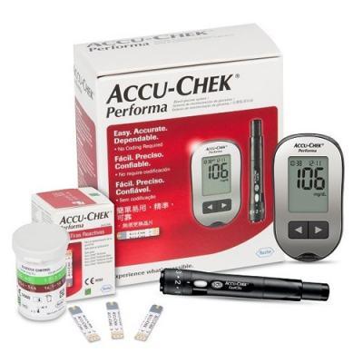 Kit Para Controle De Glicemia Accu-chek Performa