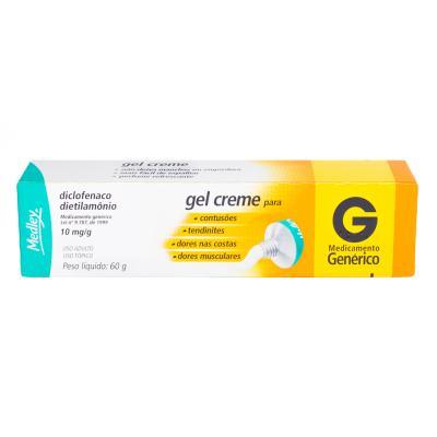 Diclofenaco De Dietilamonio Gel 60g Generico Medley