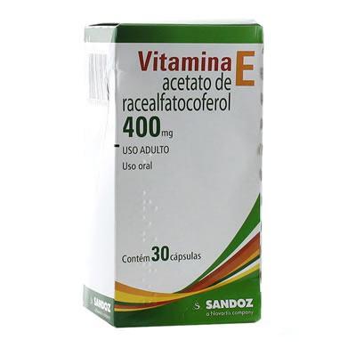 Imagem 1 do produto Vitamina E 400mg Sandoz 30 Comprimidos
