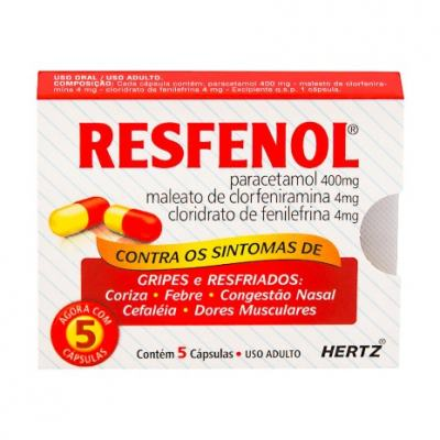 Resfenol 5 Cápsulas