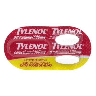 Tylenol 500mg 2 Comprimidos