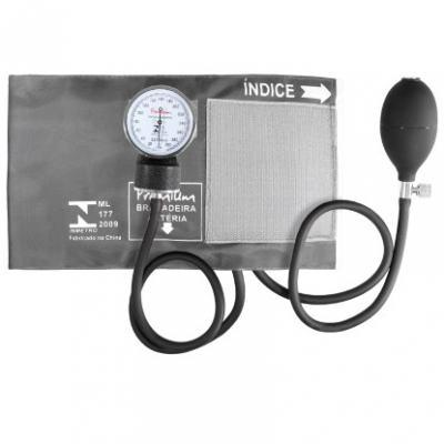 Imagem 5 do produto Kit Esteto Cardiológico Preto com Aparelho de Pressão Grafite Premium