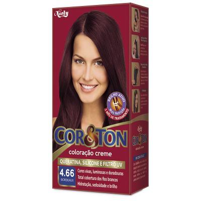 Imagem 1 do produto Tintura Niely Cor & Ton Cor Especial 4.66 Bordeaux
