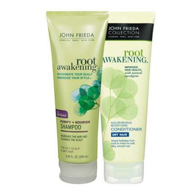 Kit Shampoo + Condicionador John Frieda Root Awakening Nourish - Kit