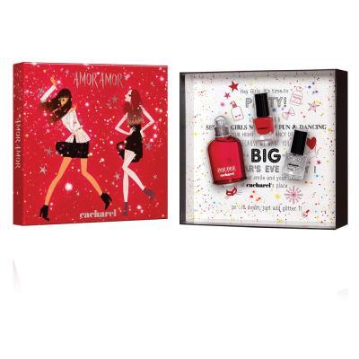 Amor Amor Cacharel - Feminino - Eau de Toilette - Perfume + 2 Esmaltes - Kit