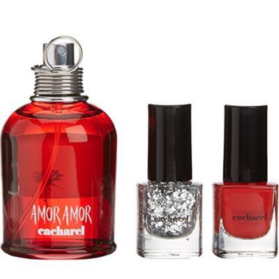 Imagem 2 do produto Amor Amor Cacharel - Feminino - Eau de Toilette - Perfume + 2 Esmaltes - Kit