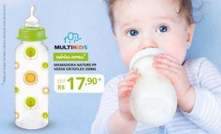 Mamadeiras Multikids: Cuidado especial com o seu bebê