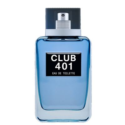 Club 401 Paris Bleu - Perfume Masculino - Eau de Toilette - 100ml