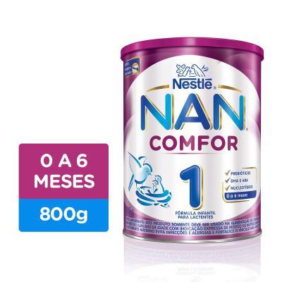 Imagem 1 do produto Fórmula Infantil NAN COMFOR 1 Lata 800g
