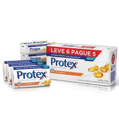 Sabonete Protex Vitamina E Pack 90g
