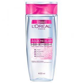 Água Micelar Solução de Limpeza Facial 5 em 1 L'Oréal Paris - 400ml