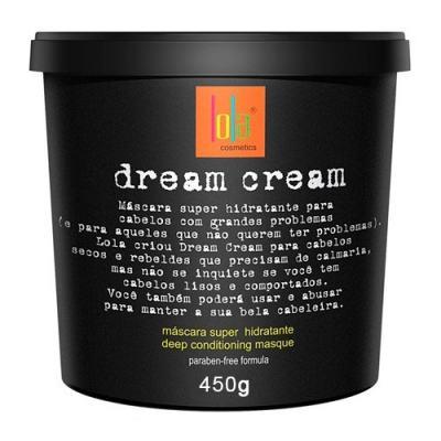 Imagem 2 do produto Kit Creme para Pentear + Máscara Lola Cosmetics Dream Cream + Milagre! Diet Cream - Kit