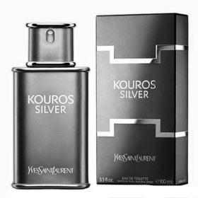 Kouros Silver Yves Saint Laurent - Perfume Masculino - Eau de Toilette - 100ml