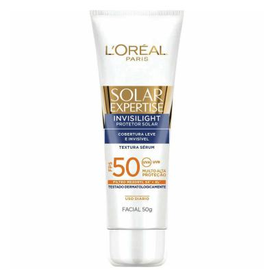 Imagem 1 do produto Sérum Protetor Solar L'Oréal Paris Solar Expertise Invisilight Fps 50 - 50g