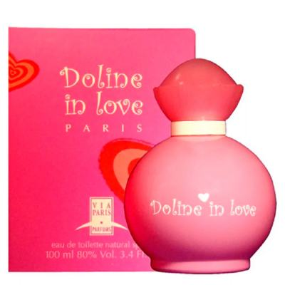Imagem 2 do produto Doline In Love Via Paris - Perfume Feminino - Eau de Toilette - 100ml