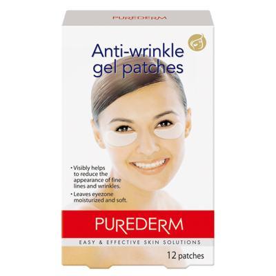 Adesivo Rejuvenescedor Para Os Olhos Purederm Anti-wrinkle Gel - 12 Unidades