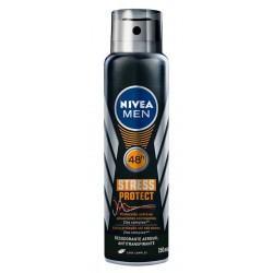 Desodorante Nivea Stress Protect Masculino Aerosol 90g