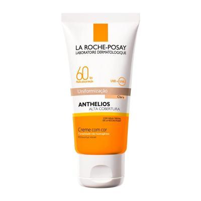 Protetor Solar Facial La Roche-Posay Anthelios Cor Clara FPS60 40ml