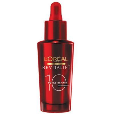 Imagem 1 do produto Rejuvenescedor Facial Colágeno L'Oréal Paris Instant Sérum Total Repair Revitalift - 30ml