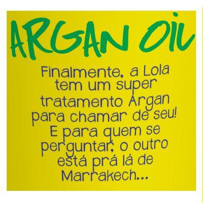 Imagem 2 do produto Lola Cosmetics Argan Oil - Máscara de Reconstrução - 230g