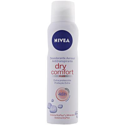 Desodorante Aerosol Nivea Dry Comfort 90g