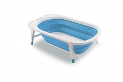 Banheira Dobrável Flexi Bath Azul Multikids Baby - Bb172 - BB172