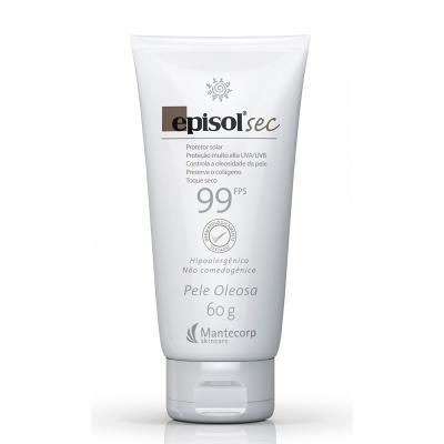 Protetor Solar Sec Toque Seco Fps 99 Episol Mantecorp Skincare 60g