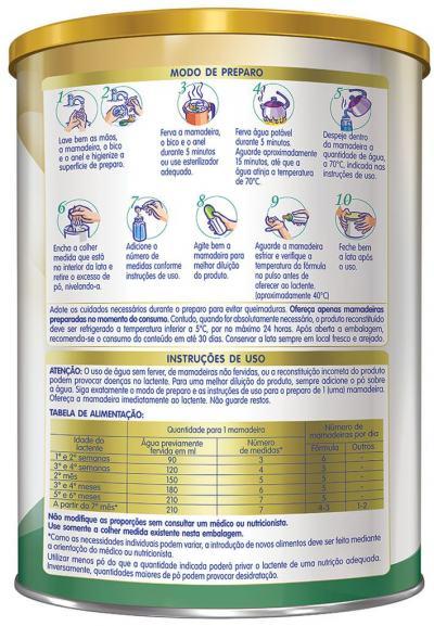 Imagem 2 do produto Fórmula Infantil NAN Soy Lata 800g