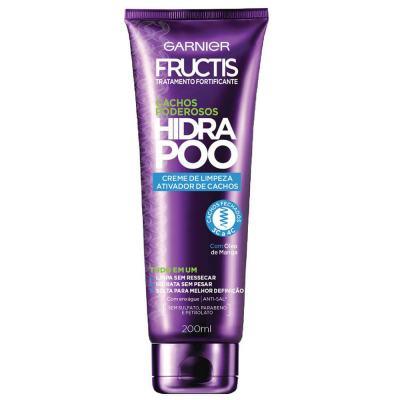 Creme de Limpeza Fructis Hydra Poo Cachos Fechados 200ml