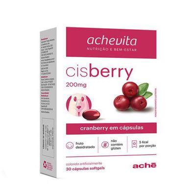 Cisberry 200mg Aché 30 Cápsulas