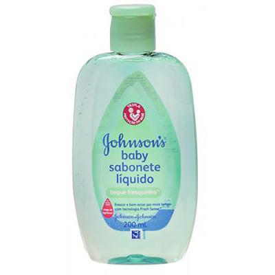 Sabonete Líquido Johnson's Baby Toque Fresquinho 200ml